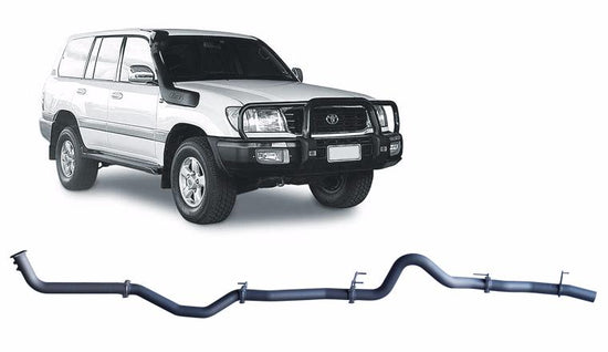Redback 4x4 Extreme Duty Performance Exhaust to suit Toyota Landcruiser (10/2000 - 10/2007)