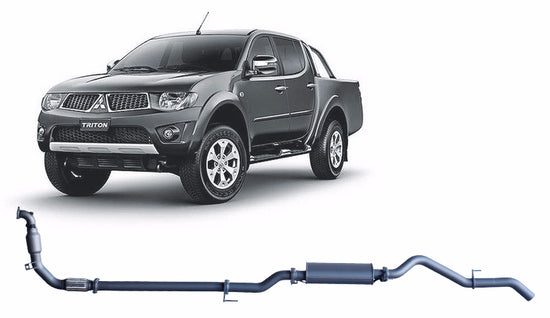Redback 4x4 Extreme Duty Performance Exhaust to suit Mitsubishi Triton (09/2009 - 04/2015)