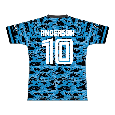 NZ Breakers Digital Camo Training Tee