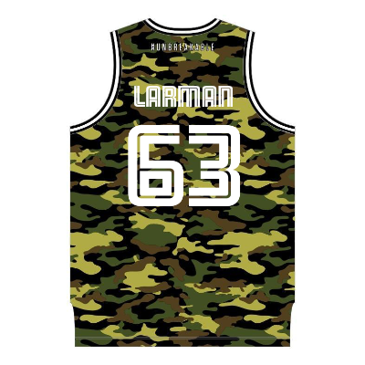 NZ Breakers Camo Basketball Singlet