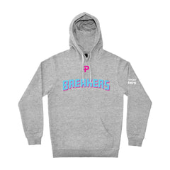 NZ Breakers Pro Heavyweight Hoodie - Grey
