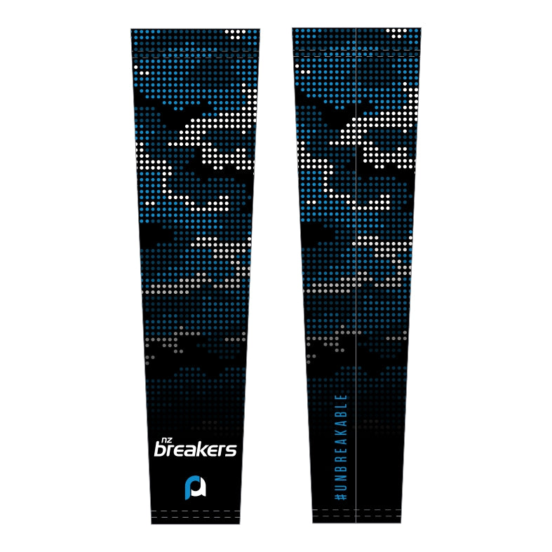NZ Breakers Compression Arm Sleeves