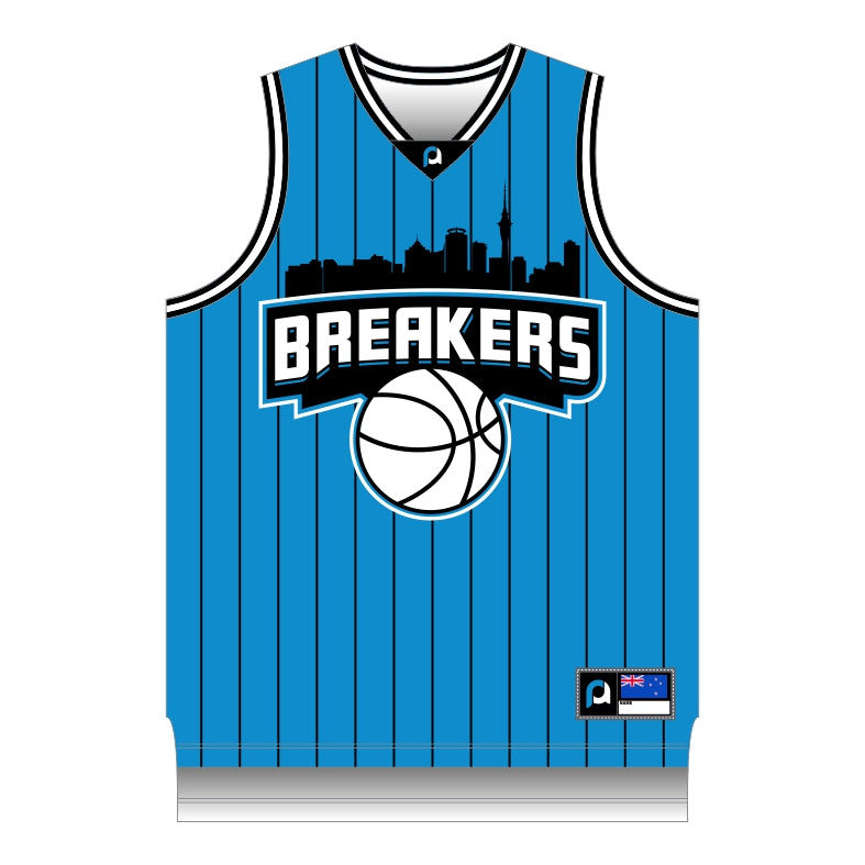 NZ Breakers Retro Basketball Singlet