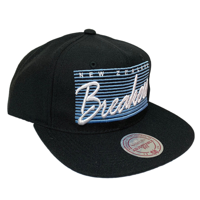 NZ Breakers 2019/20 Flat Peak Snap Back - By Mitchell & Ness