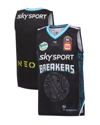 YOUTH 2019/20 NZ Breakers Official Player Singlets