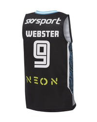 WEBSTER #9 - 2019/20 NZ Breakers Official Player Singlet