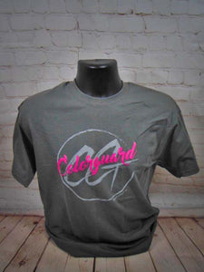 COLORGUARD - GREY CRYSTALLINA T SHIRT