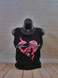 COLORGUARD - PINK HEART TANK