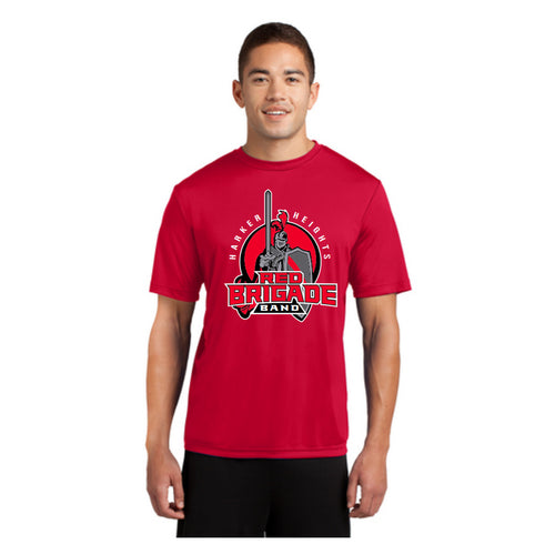 Harker Heights HS - Red DriFit T-Shirt