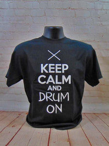 PERCUSSION - KEEP CALM AND DRUM ON
