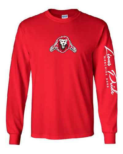 LIBERTY HIGH SCHOOL - RED LONG SLEEVE TEE