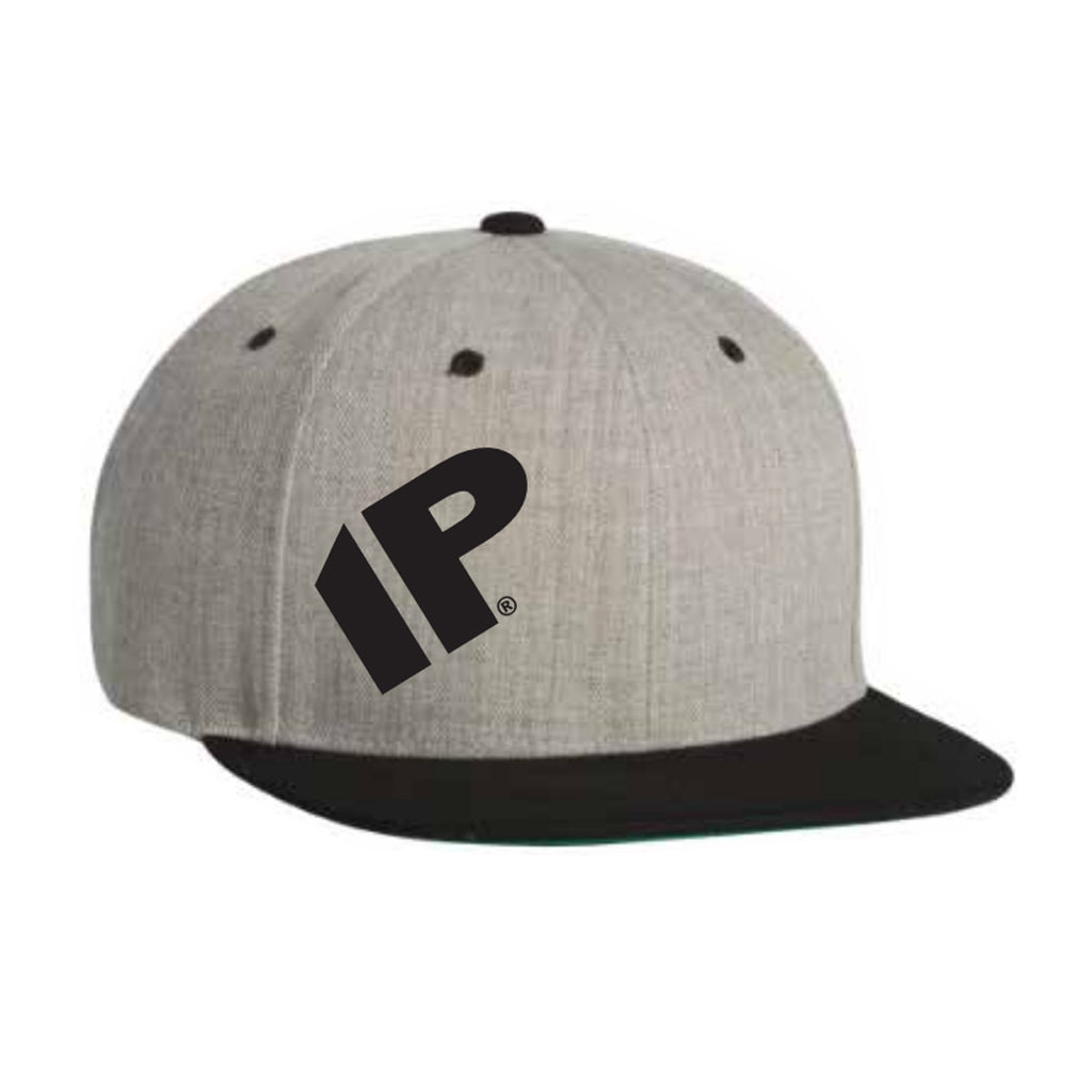 IP Heather Grey Snapback Hat