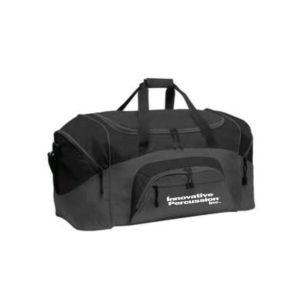 IP Black Duffel Bag