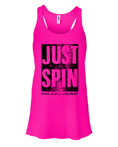 JUST SPIN Tank Top