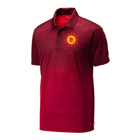 Ombre Heather Polo