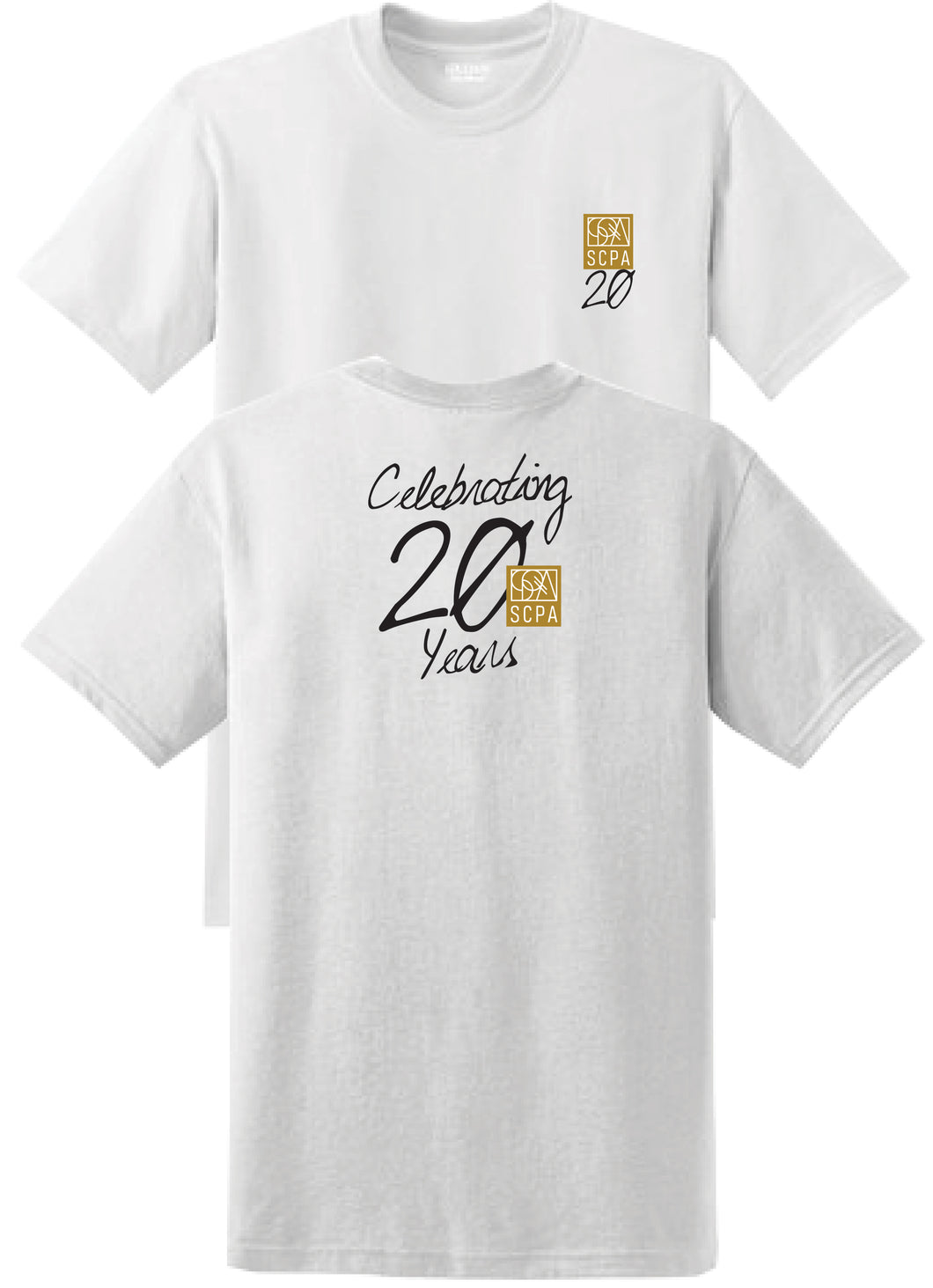 SCPA-20 - White T Shirt