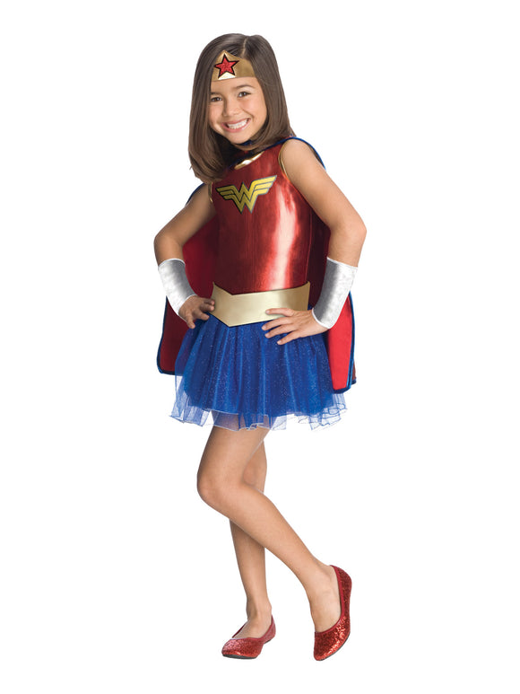 WONDER WOMAN TUTU DRESS - SIZE 4-6