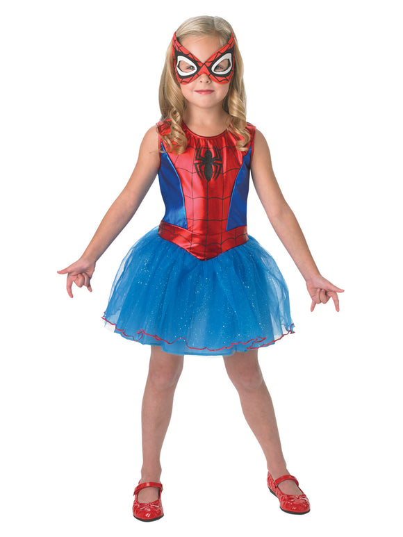 SPIDER-GIRL COSTUME - SIZE 4-6