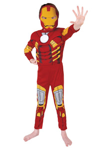 Iron Man Deluxe - Size 3-5