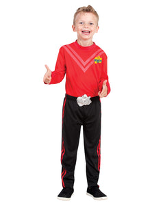 Simon Wiggle Deluxe Costume (Polybag)-Size Toddler