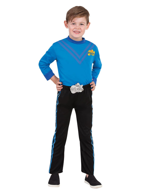 Anthony Wiggle Deluxe Costume (Poly)- Size Toddler