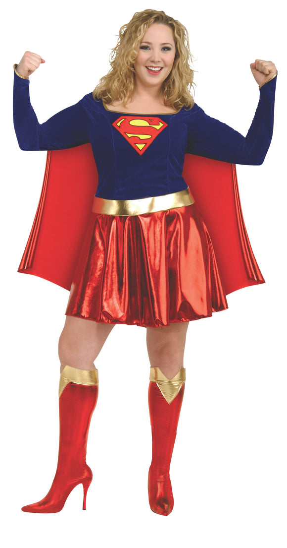 Supergirl Costume - Size Plus