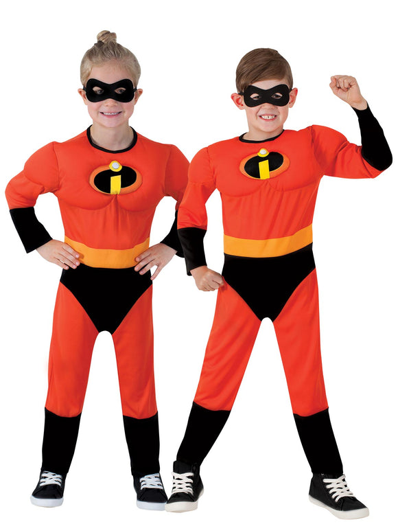 Incredibles 2 Deluxe Jumpsuit Costume - Size 3-5