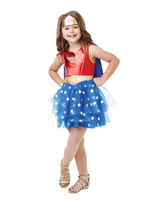 Wonder Woman Premium Costume - Size 6-8