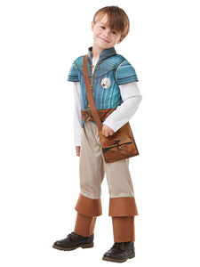 Flynn Rider Deluxe Costume - Size M (5-6Yrs)