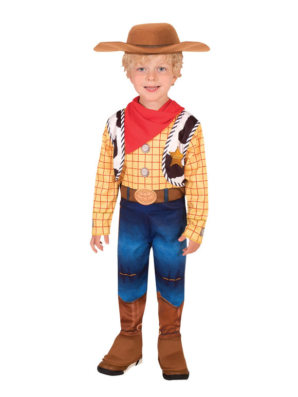 Woody Deluxe Toy Story 4 Costume - Size Toddler