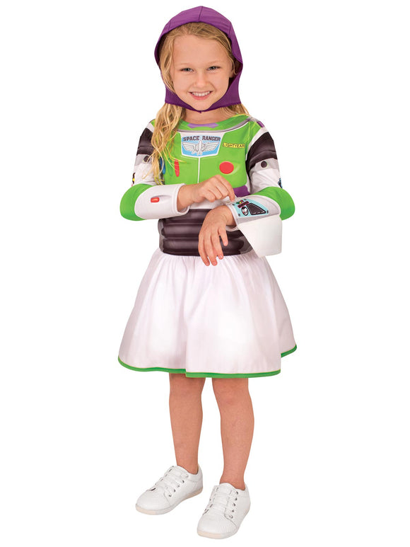 Buzz Girl Toy Story 4 Classic Costume - Size Todd
