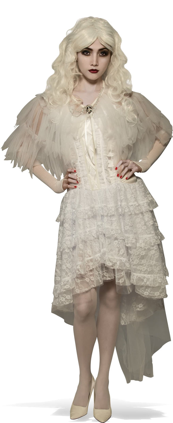 WITCH CAPELET WHITE - SIZE STD