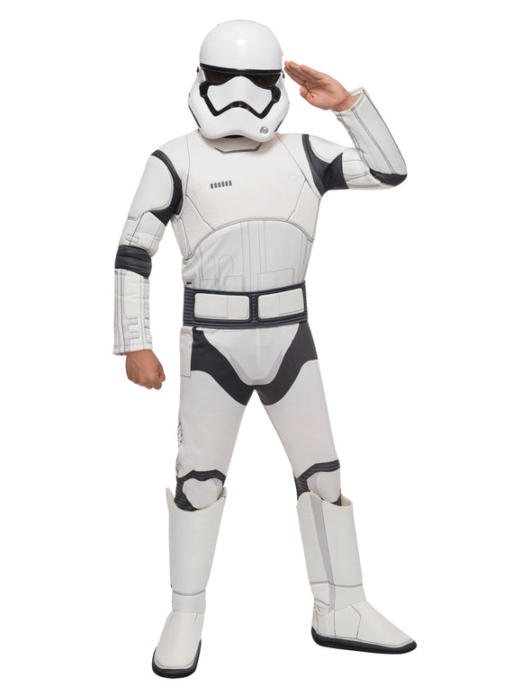 Stormtrooper Deluxe - Size S 3-5Yr