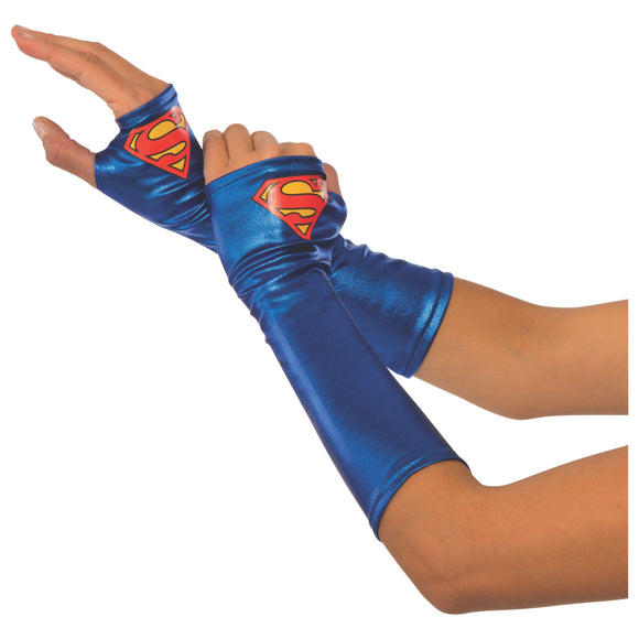 SUPERGIRL GAUNTLETS ADULT