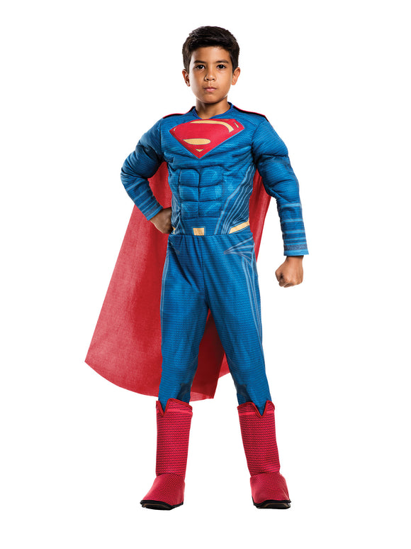 Superman Doj Deluxe - Size 3-5