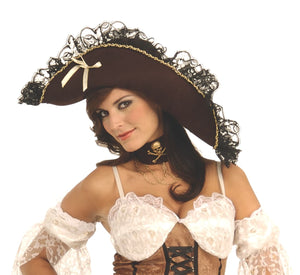MAIDEN OF THE SEA PIRATE HAT,  ADULT