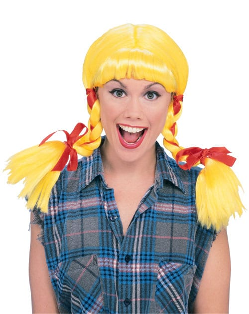 COUNTRY GIRL WIG - YELLOW