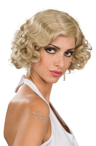 FLAPPER WIG BLONDE - ADULT