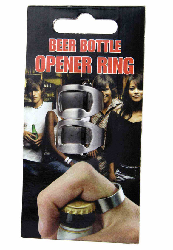 Bottle Opener Ring 2Pc Pack