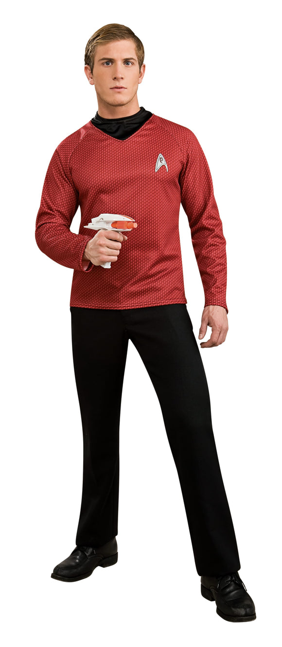 Star Trek Scotty Red Shirt - Size Xl