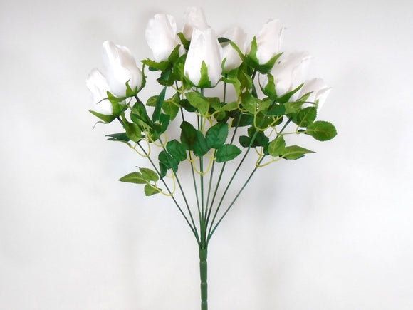 Rose Buds Artificial Silk Flowers 19