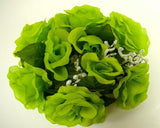 2 Candle Rings Roses Center Pieces Artificial Silk Flowers 4005 - Phoenix Silk Flower Marketplace