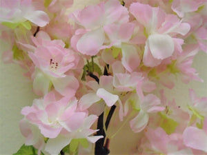 "PINK Peach Blossom 40"" Spray Artificial Silk Flowers 2019PK - Phoenix Silk Flower Marketplace"
