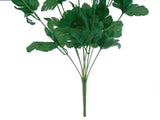 "GREEN Queen Anne's Lace Bush Artificial Plastic Foam Flowers 20"" Bouquet 9-5350 GR - Phoenix Silk Flower Marketplace"