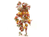 "GRAPE IVY Leaves 34"" Hanging Bush Artificial Silk Greenery 5363BU - Phoenix Silk Flower Marketplace"