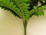 "Boston Fern Bush 29"" Leaves Artificial Silk Plant Greenery 30 - 5601GN - Phoenix Silk Flower Marketplace"