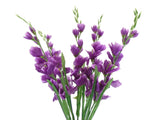 "Gladiolus Bush Artificial Silk Flowers 26"" Bouquet 5-5971 - Phoenix Silk Flower Marketplace"