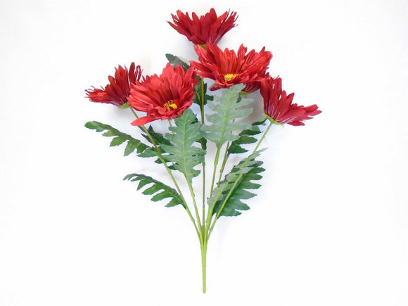 Jumbo Gerbera Daisy 7 Artificial Silk Flowers 21