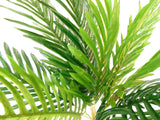 "Palm Bush 15 Leaves Artificial Silk 20"" Plant Greenery 83811-GR - Phoenix Silk Flower Marketplace"