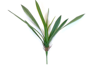 "Plastic Leaves Bush 22"" With Roots Artificial Plant Greenery 8810 - Phoenix Silk Flower Marketplace"